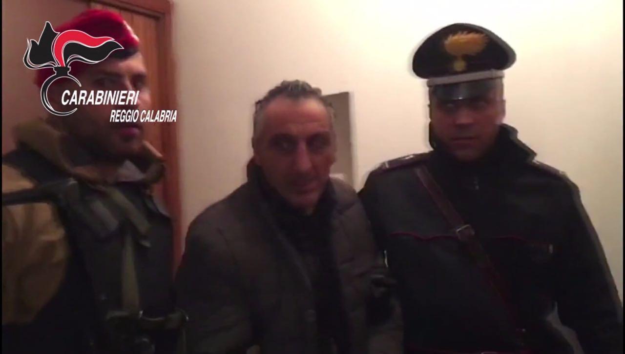 Blitz dei Carabinieri di Taurianova, catturato il latitante Facchineri