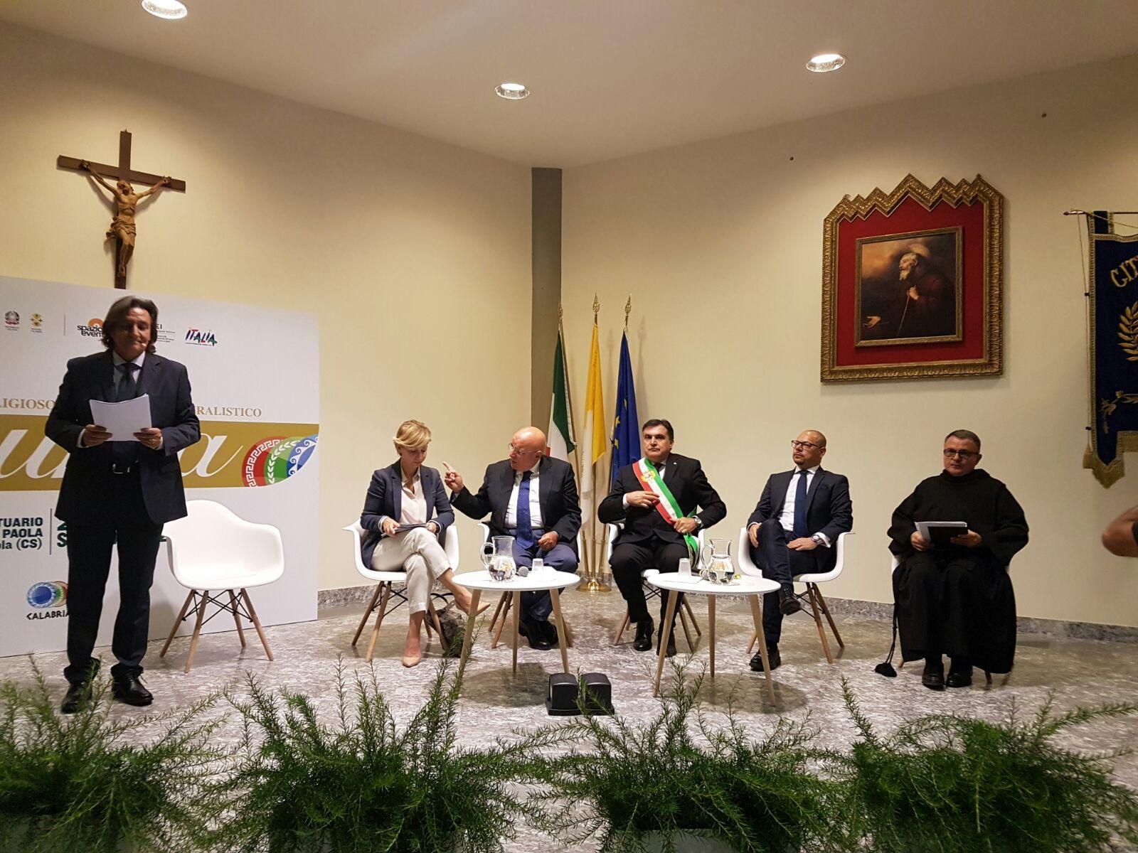 """dc76feee9d 2017-09-27-PHOTO-00000016.jpg. Paola - Torna in Calabria """"Aurea- La borsa  italiana del Turismo, Religioso e ..."""