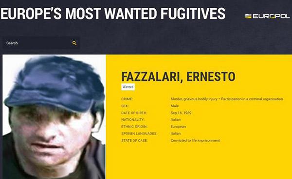 Arrestato in Aspromonte Ernesto Fazzalari, latitante della 'ndrangheta