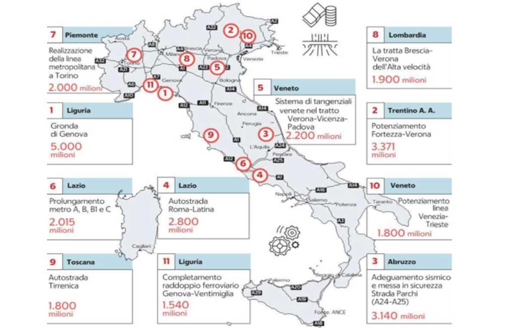 Cartina Nord.La Cartina Delle Diseguaglianze Nord Sud Il Lametino It