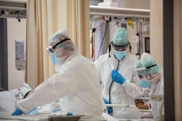 In Italia 13.314 nuovi casi e 346 morti
