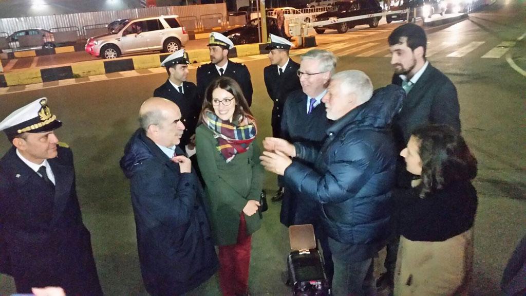 Visita coordinatore Ue corridoio Ten-t Cox in Calabria