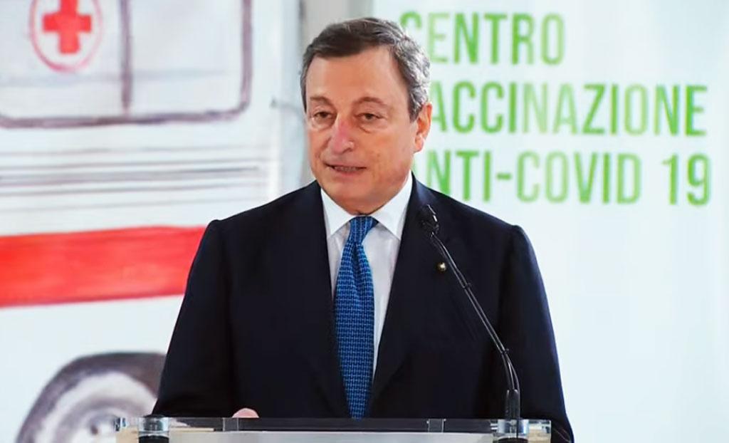 Covid Italia, Draghi: