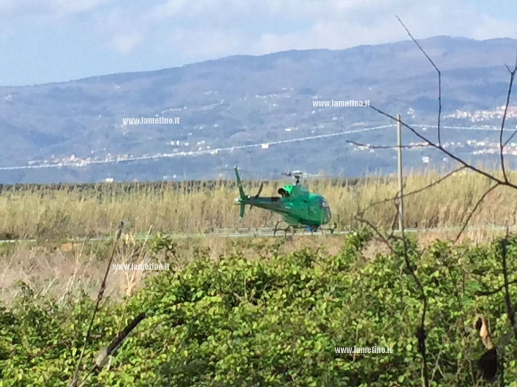 Lamezia Elicottero Enel A Bassa Quota Per Check Up Rete Elettrica