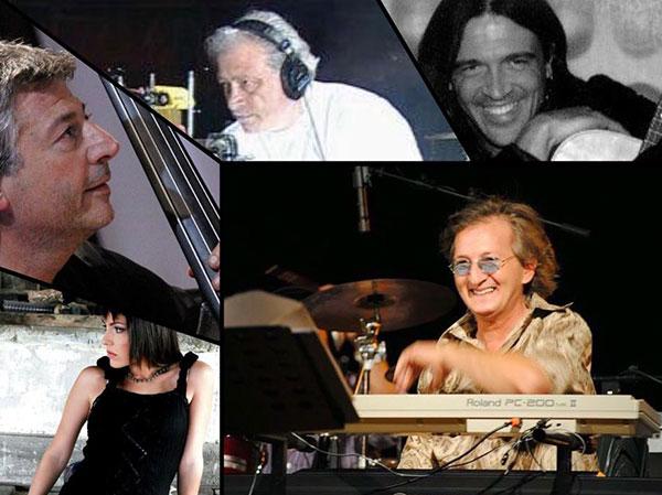 Joe Amoruso, Rosario Jermano, Angelo Farias e  Luna Di Domenico a Filadelfia