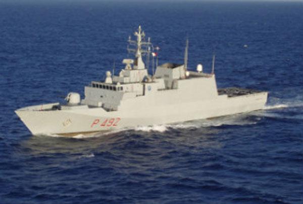 A bordo della nave Bettica della Marina Militare è nata Manuela