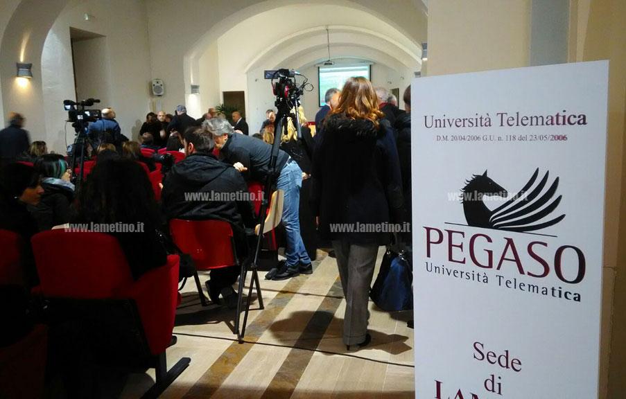 Lamezia Inaugurata Nuova Sede Universita Telematica Pegaso Il Lametino It