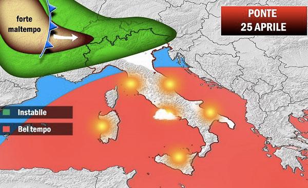 Meteo: Arpa, 25 aprile di pioggia in Lombardia