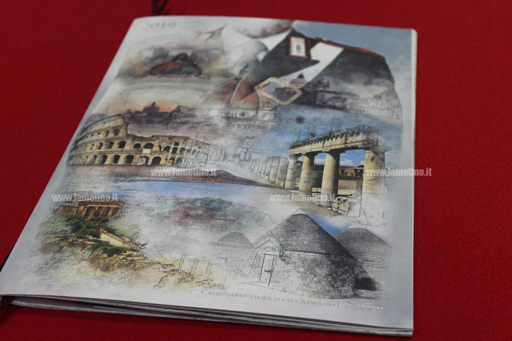 Calendario Storico Carabinieri 2019.Presentato A Catanzaro Il Calendario Storico Dell Arma Dei