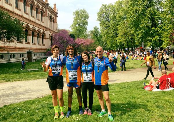 @LaPresse_la partenza di EA7 Emporio Armani Milano Marathon 2017